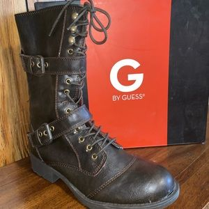 G by Guess combat boots Sz.10